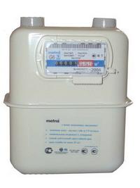 Cчетчик газа Metrix G-6 130 мм