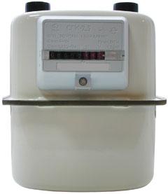бытовой газовый счетчик СГК-4.0